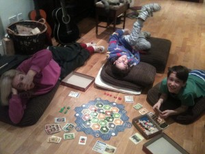 Family games night - unpaid....but worthwhile....
